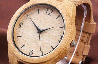 Relojes de madera para hombre y mujer