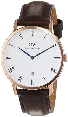 Daniel Wellington 1103DW - Reloj con correa de cuero unisex, color