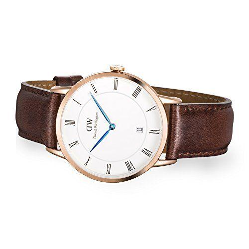 Daniel Wellington 1100DW - Reloj con correa de cuero unisex