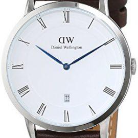 Daniel Wellington 1123DW – Reloj con correa de cuero unisex, color