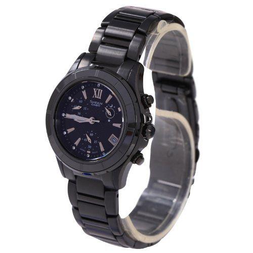 Casio SHE-5516BD-1ADR - Reloj (Reloj de pulsera, Acero inoxidable,