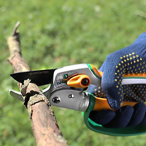 Tijeras de jardín, con hoja de acero japonés SK5, tijeras para