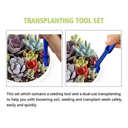 14Pcs Mini herramientas de mano de jardinería mini