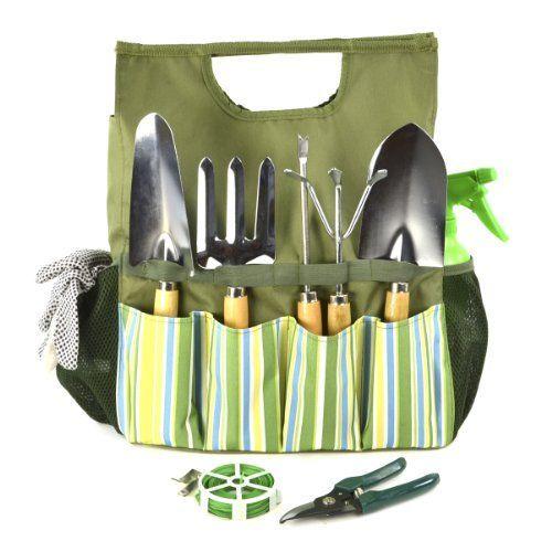 Plant Theatre Bolsa esencial de herramientas de jardín - Incluye