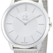 Calvin Klein Reloj Analógico de Cuarzo para Hombre con Correa de Acero Relojes Calvin Klein