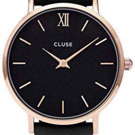 Cluse Reloj Analógico de Cuarzo para Mujer con Correa de Cuero – CL30022
