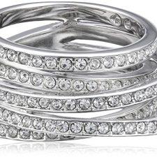Swarovski 1156304 – Anillo de metal con cristal swarovski Swarovski