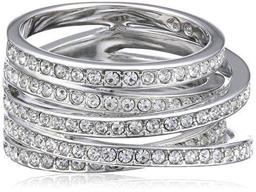 Swarovski 1156304 - Anillo de metal con cristal swarovski