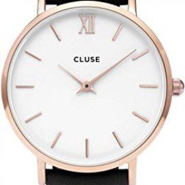 Cluse Reloj Analógico Automático para Mujer con Correa de Cuero – CL30003