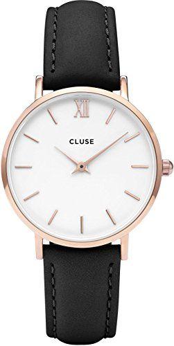 Cluse Reloj Analógico Automático para Mujer con Correa de Cuero – CL30003 Relojes Cluse
