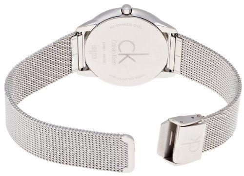 Calvin Klein Reloj Analógico de Cuarzo para Hombre con Correa de Acero