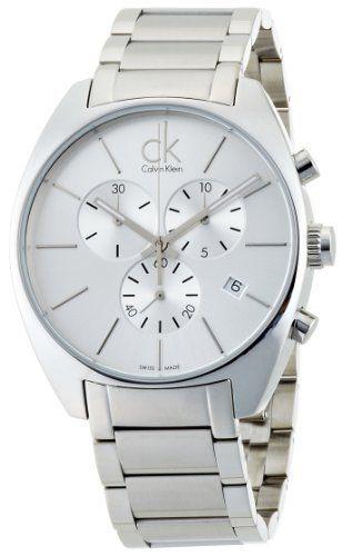 Calvin Klein K2F27126 - Reloj de caballero de cuarzo, correa de acero