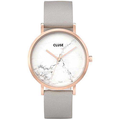 Cluse Reloj Digital de Cuarzo Unisex con Correa de Cuero – CL40005 Relojes Cluse