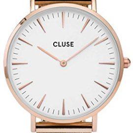 Cluse Reloj Analógico Automático para Mujer con Correa de Acero Inoxidable – CL18112