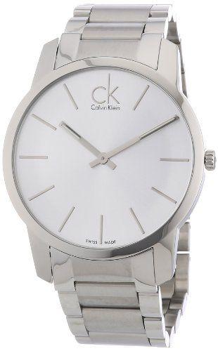 Calvin Klein K2G21126 - Reloj de caballero de cuarzo, correa de acero