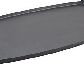 Jata Gr195 – Plancha de asar eléctrica, antiadherente, 2200 W, color negro