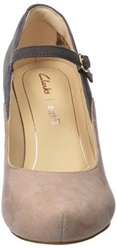 Clarks Dalia Lily, Zapatos con Tacon y Correa de Tobillo para Mujer