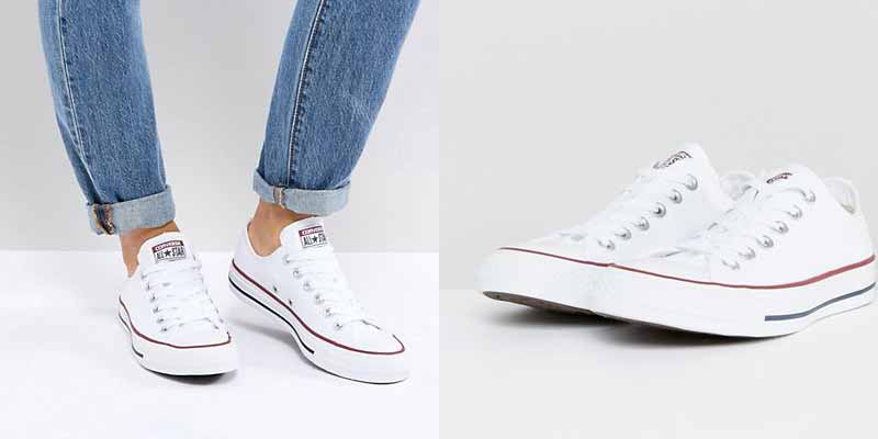 Zapatillas de deporte en blanco Chuck Taylor All Star