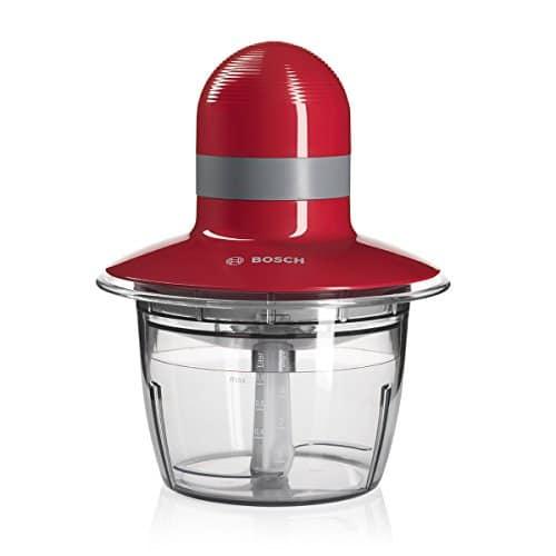 Bosch MMR08R2 – Picadora, capacidad de 0.8 l. 400 W, color rojo Pequeño electrodoméstico