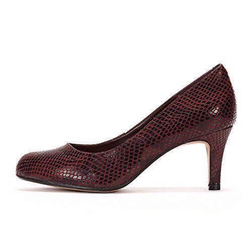 Clarks Arista Abe - Zapatos de Tacón Cerrados de Cuero Mujer