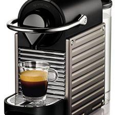 Nespresso Krups Pixie XN 3005-Cafetera de cápsulas, 19 Las Cafeteras de cápsulas más vendidas