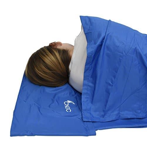 CNOC Prima Saco de dormir de microfibra para verano