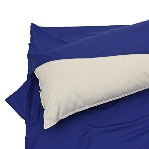 Sabana Saco de Dormir de Microfibra para verano