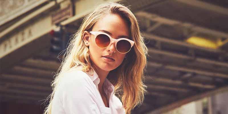 Gafas de sol Miss Hamptons estilo retro