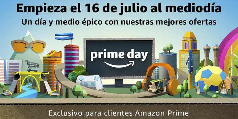 Prime Day 2018 de Amazon con miles de ofertas exclusivas
