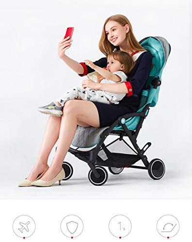 Star Ibaby - Silla de paseo Air +, reclinable con barra de