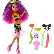Monster High Electro-Peinados Muñecas Monster High