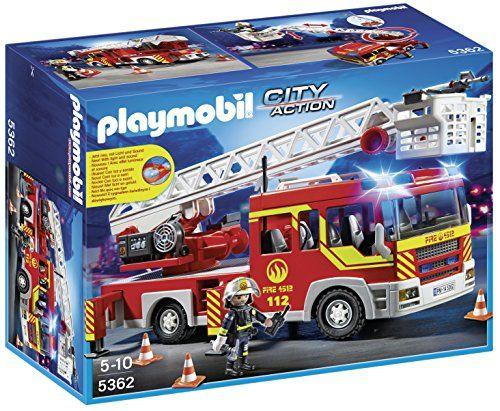 Playmobil Bomberos – Camión y Escalera con Luces y Sonido Ofertas en Playmobil