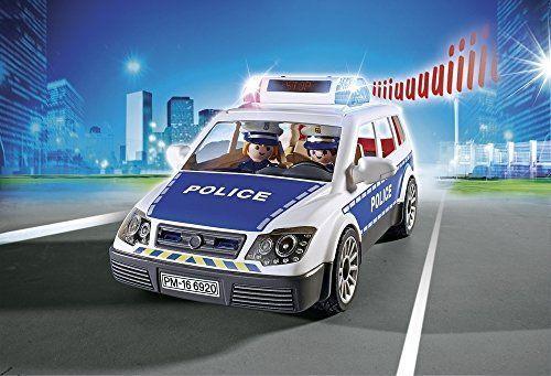 Playmobil 6920 City Action - Coche de Policía con Luces y