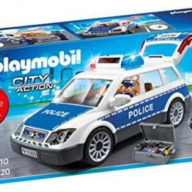Playmobil 6920 City Action - Coche de Policía con Luces y