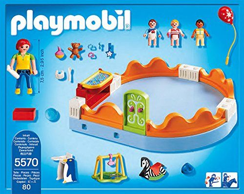 Playmobil Guardería - Zona de bebés, playset (5570)