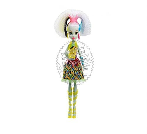 Monster High MUÑECA Frankie MEGAVOLTICA