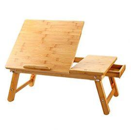 Mesa para ordenador portátil de Bambú