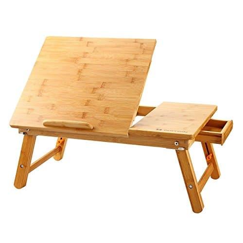 Mesa para ordenador portátil de Bambú Accesorios informática