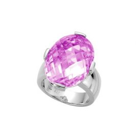 Diamonfire Fancy Colors - Anillo de plata 925 con circonita