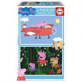 Peppa Pig Puzzle de Madera