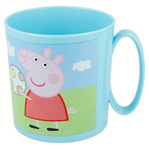 Joy Toy 748604 – Peppa Pig – Taza para microondas (350 ml) 8 Peppa Pig - Juguetes