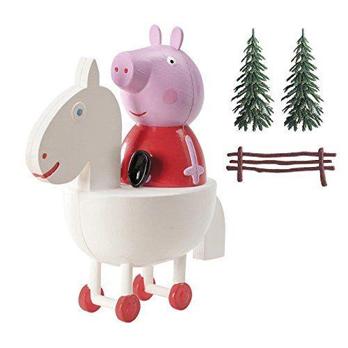 Dekora 302029 Decoracion para Tartas con la Figura de Peppa Peppa Pig - Juguetes