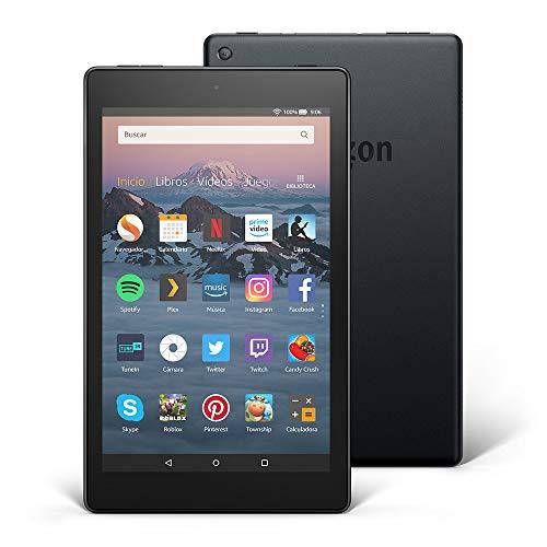 Tablet Fire HD 8 | Pantalla HD de 8 pulgadas, 16 GB, negro, incluye ofertas especiales Otros Productos