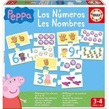 Educa Borras, S.A.U. Juego Aprendo Los Números Peppa Pig Peppa Pig - Juguetes