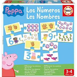 Educa Borras, S.A.U. Juego Aprendo Los Números Peppa Pig