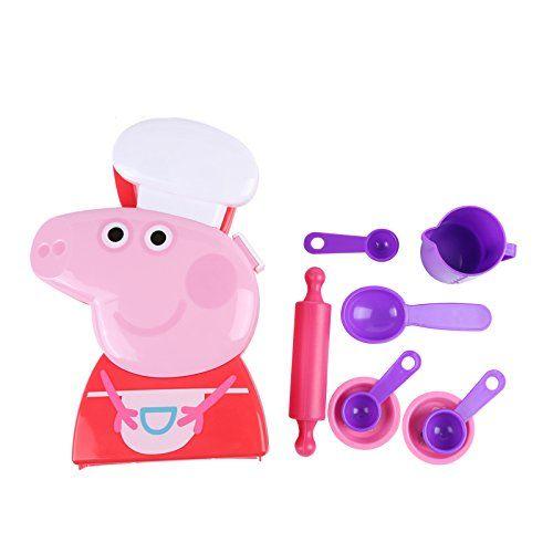 Peppa Pig Chef, Color Rojo (HTI VHTI_1680769) Peppa Pig - Juguetes
