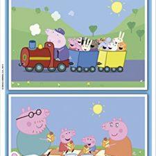 Puzzles Educa – Peppa Pig, 2 Puzzles Peppa Pig - Juguetes