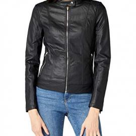 Vila Viaya Faux Leather Jacket-Noos, Chaqueta para Mujer