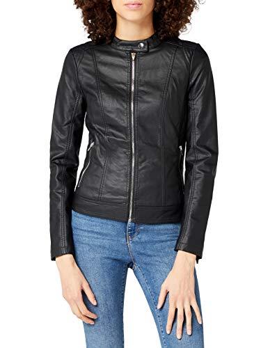 Vila Viaya Faux Leather Jacket-Noos, Chaqueta para Mujer Prendas de Abrigo