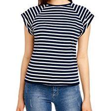 oodji Ultra Mujer Camiseta Básica de Algodón Moda mujer